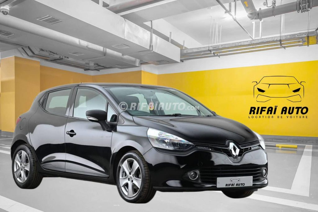 Rent a Renault Clio 4 in Casablanca
