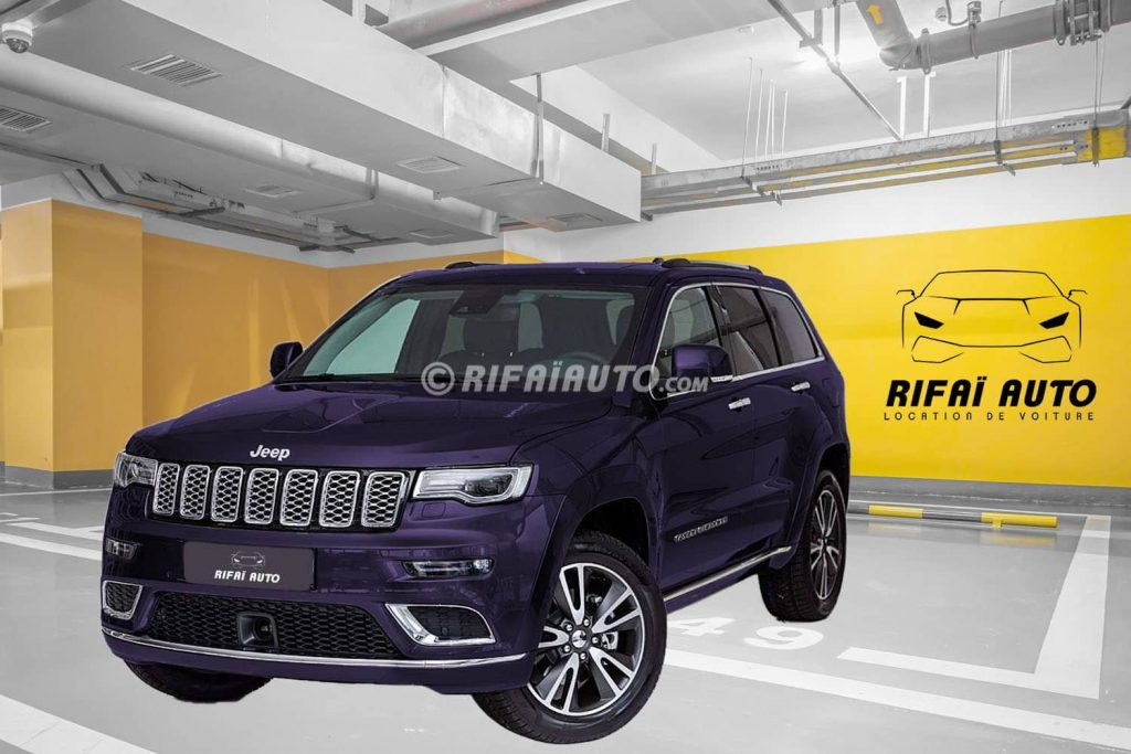 Rent Jeep Grand Cherokee Summit in Casablanca