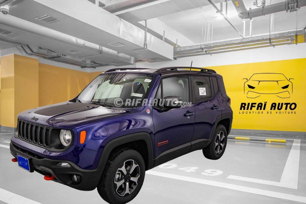 Rent Jeep Renegade in Casablanca