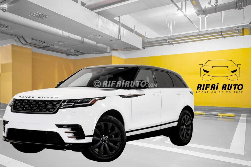 Rent Range Rover Velar R-Dynamic in Casablanca