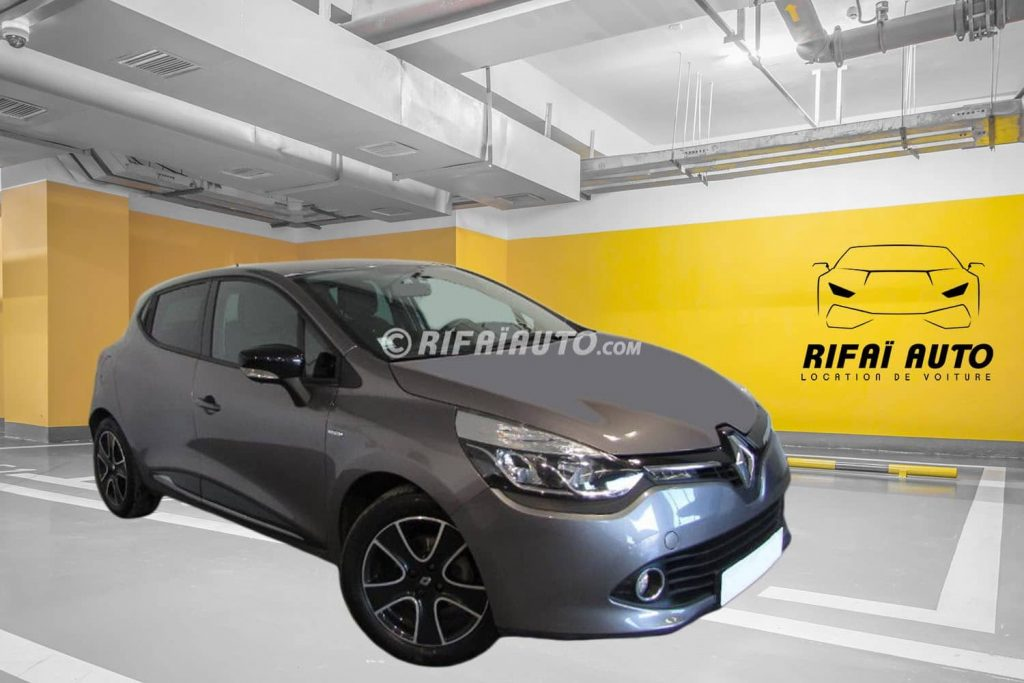 Rent Renault Clio 4 in Casablanca – Dark Gray