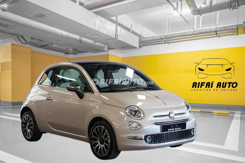 Rent Fiat 500 in Casablanca Cheaper