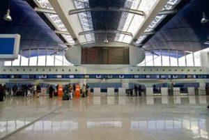 Passagiers op de Luchthaven van Mohammed V